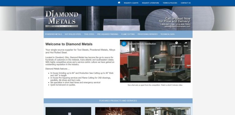 Diamond Metals