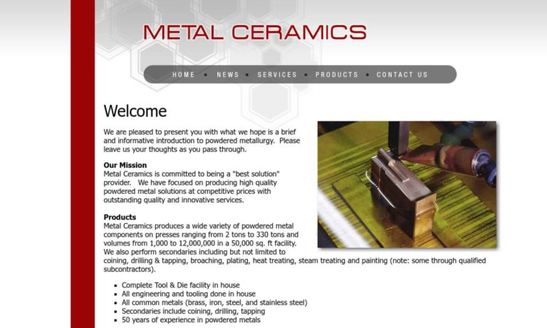 Metal Ceramics, Inc.