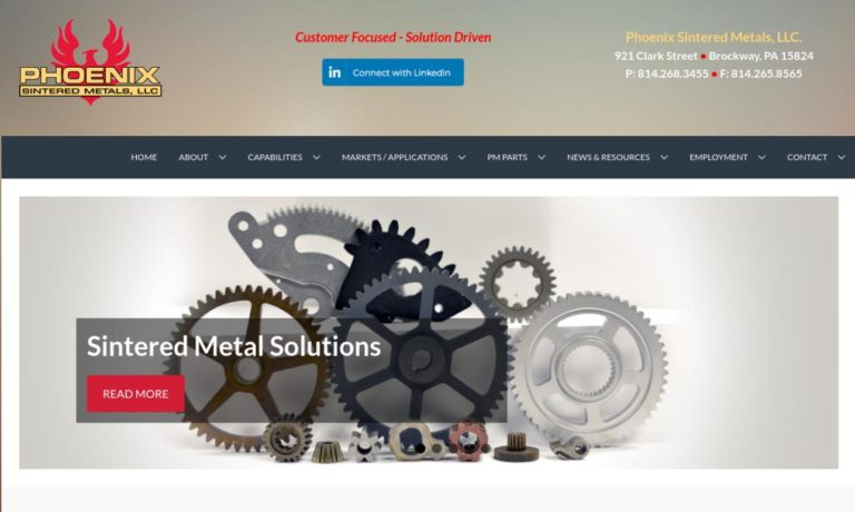 Phoenix Sintered Metal, Inc.
