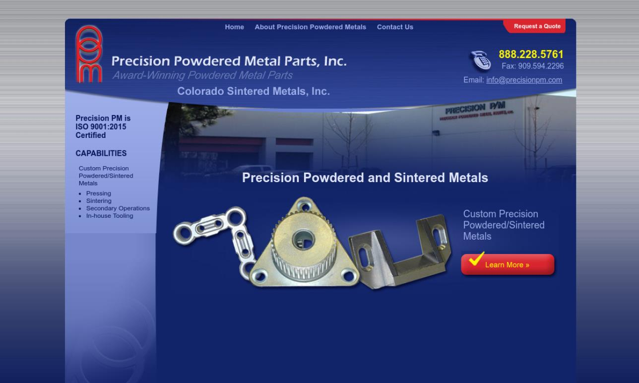 Colorado Sintered Metals
