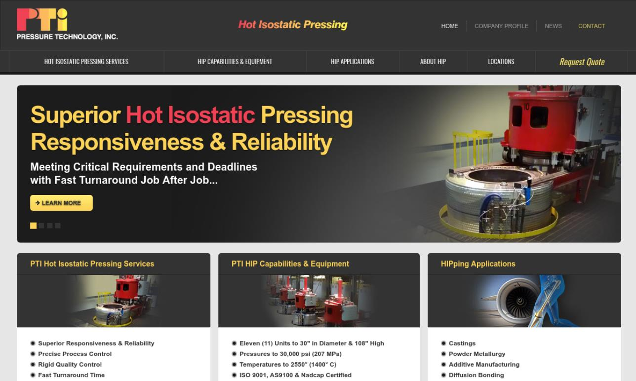 Pressure Technology, Inc.