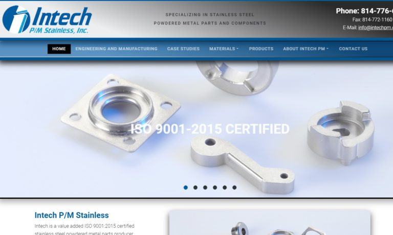 Intech P/M Stainless, Inc.