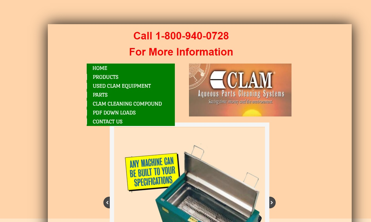 CLAM® Products Division