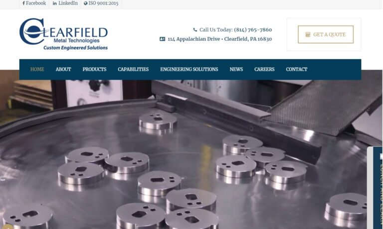 Clearfield Metal Technologies